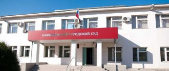 Камышинский городской суд 1